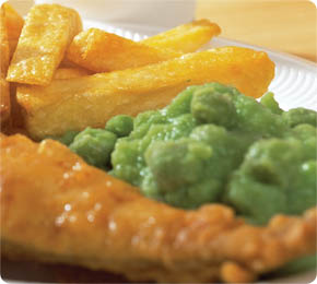 Mushy Peas & Chips